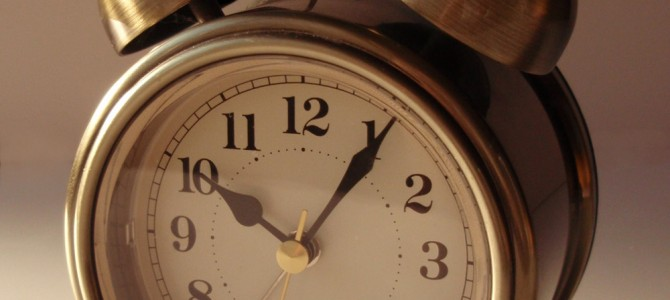 THE ALARM CLOCK – CHAPTER FIVE