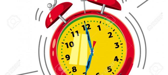 THE ALARM CLOCK – CHAPTER THREE
